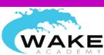 Wake Academy aan het IJ in Amsterdam, Noord-Holland.